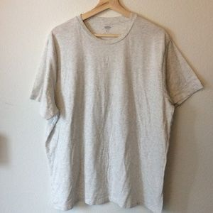 (4 FOR $25 SALE) Old Navy Heathered White T-shirt